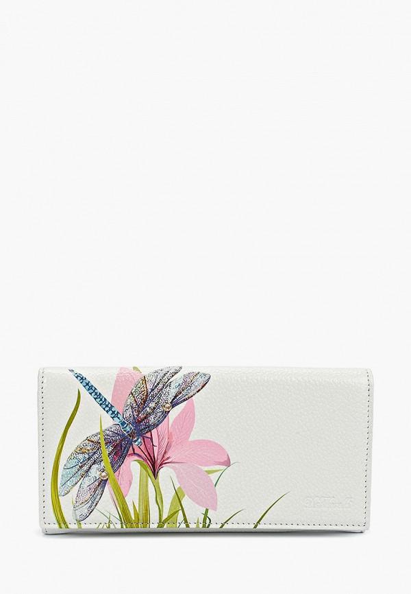 женский кошелёк d.morelli, белый