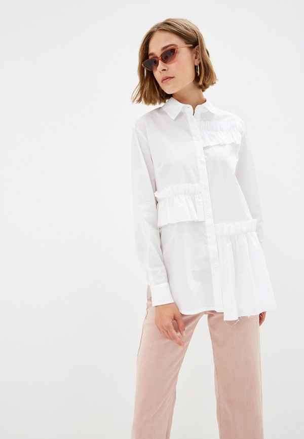 Фото - Женскую блузку EMI белого цвета