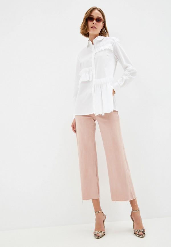 Фото 2 - Женскую блузку EMI белого цвета