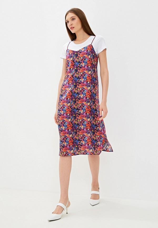 Фото - Женское платье EMI разноцветного цвета