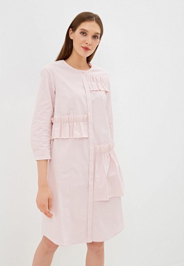 Фото - Женское платье EMI розового цвета