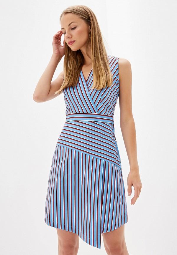Фото - Женское платье Olegra голубого цвета