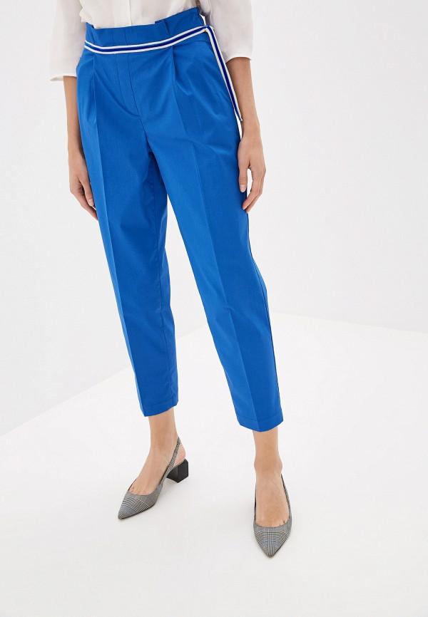 Фото - Женские брюки EMI синего цвета