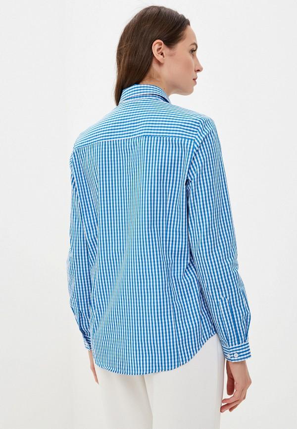 Фото 3 - Рубашку Bawer синего цвета