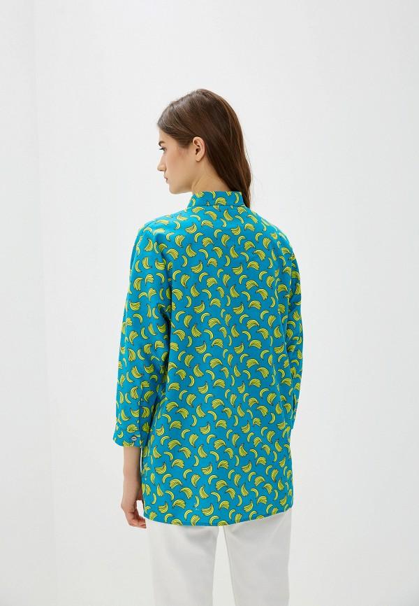 Рубашка po Pogode цвет синий  Фото 3