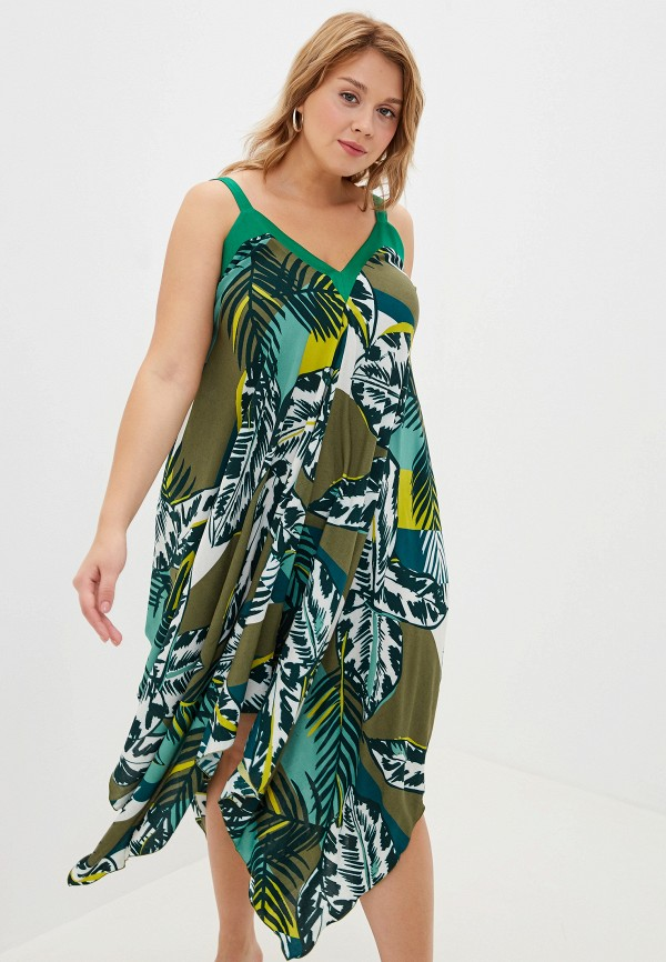 женский сарафан shegida, зеленый