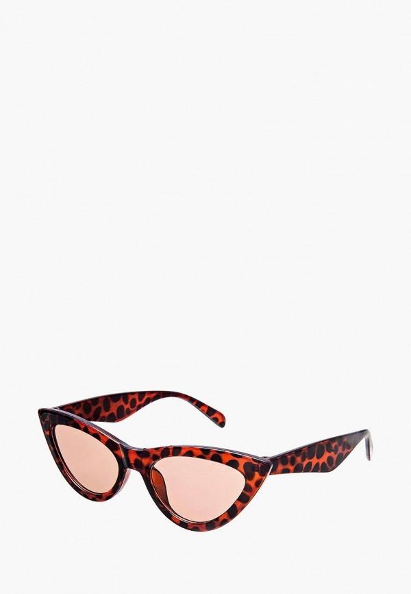 женские солнцезащитные очки кошачьи глаза aiyony macie, коричневые