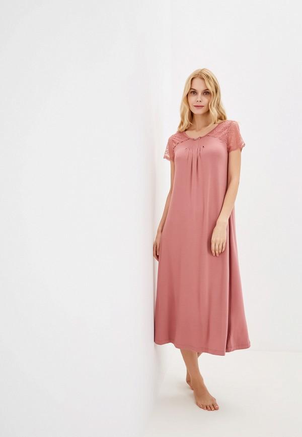 Фото - Платье домашнее Home Secrets розового цвета
