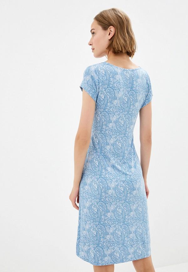 Фото 3 - Сорочку ночная Home Secrets синего цвета