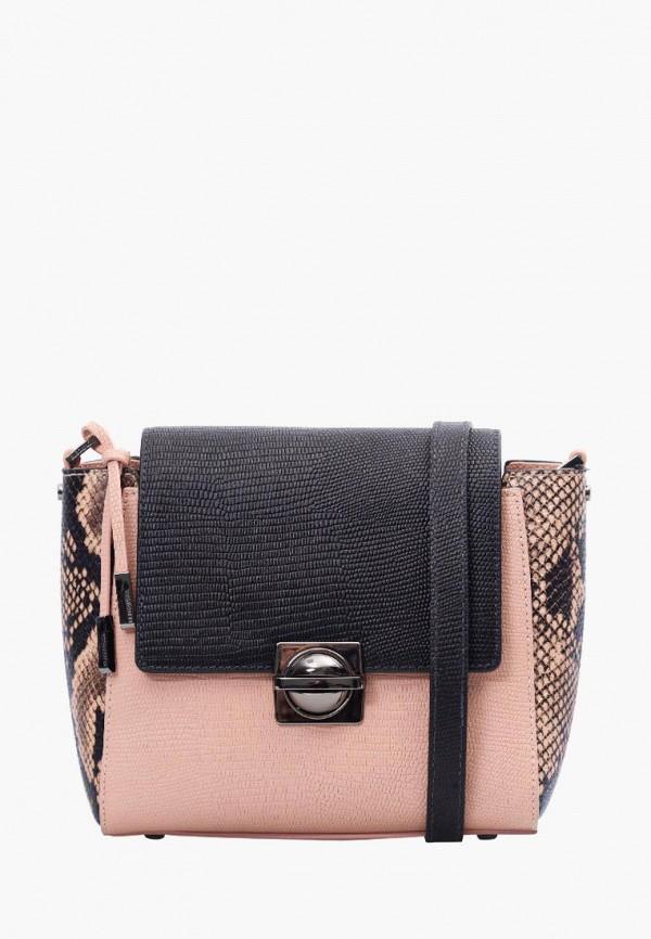 женская сумка eleganzza, розовая