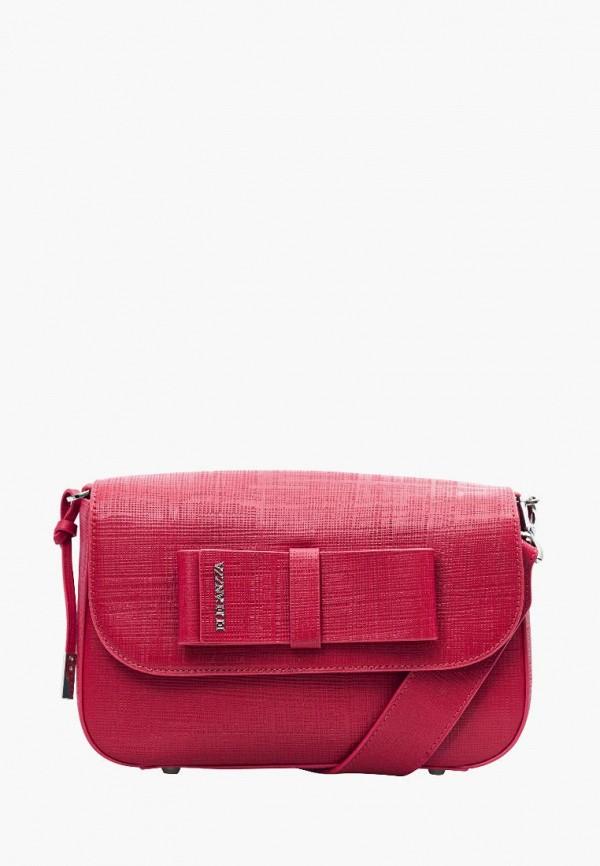 женская сумка eleganzza, красная