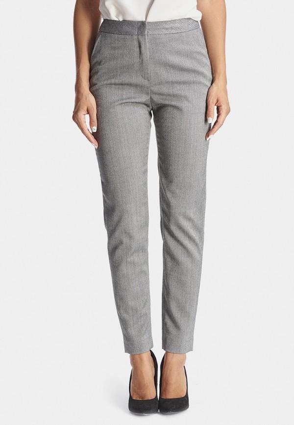 женские классические брюки natali bolgar, серые