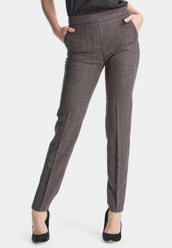 женские повседневные брюки natali bolgar, серые