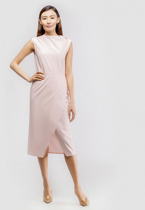 женское платье-футляр true colors, розовое