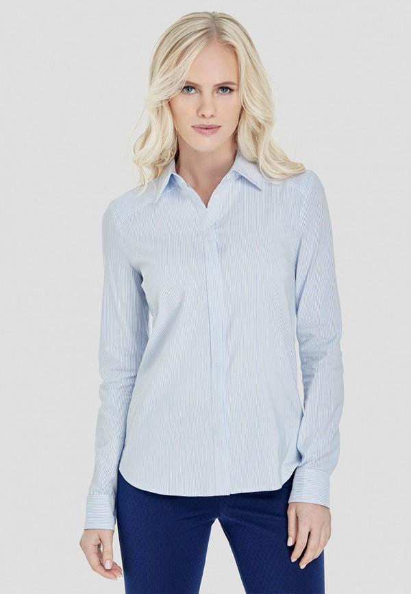женская рубашка с длинным рукавом natali bolgar, белая
