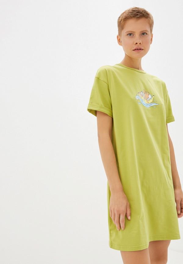 Платье Animals, Зеленый