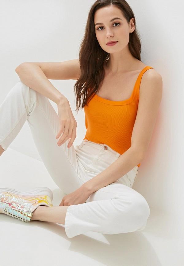 Фото - Женскую майку Tezenis оранжевого цвета