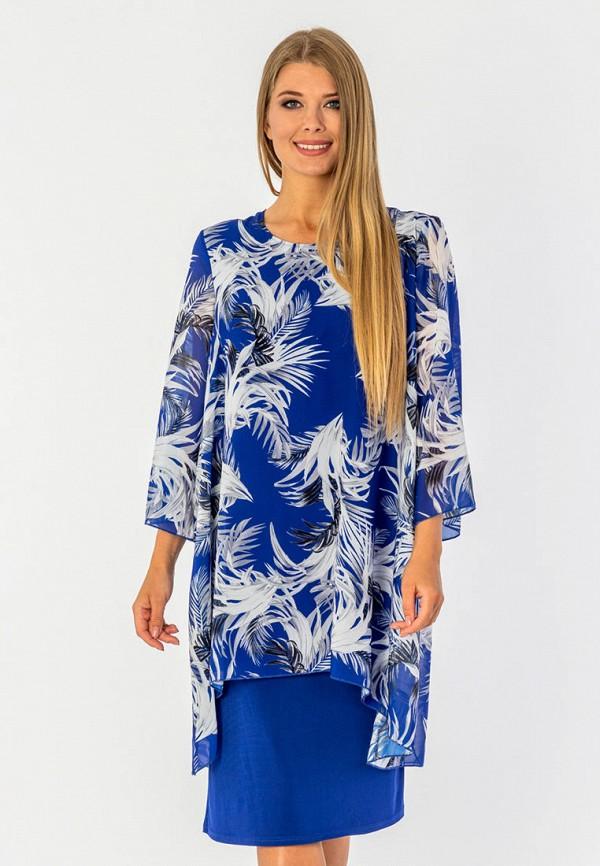 Фото - Женское вечернее платье Malena синего цвета