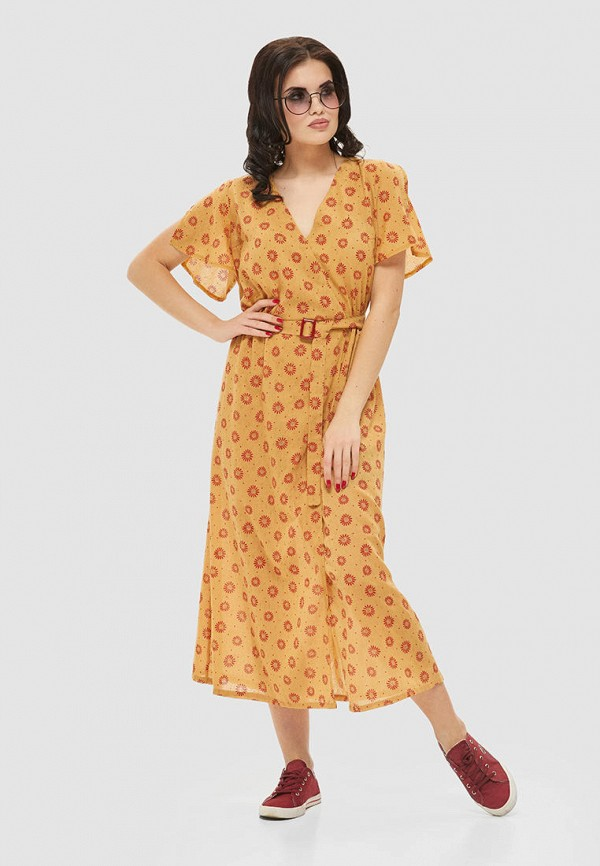 женское платье mila nova, желтое