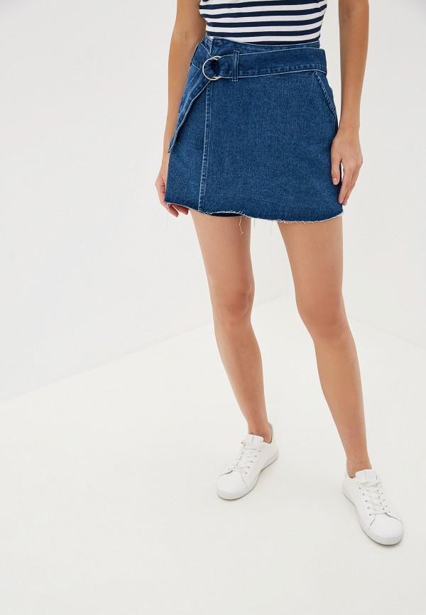 женские шорты befree, синие
