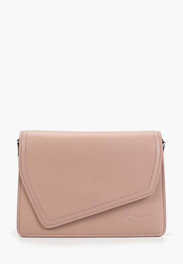 Фото - Женскую сумку Marco Bonne` розового цвета