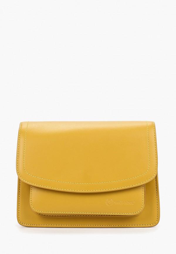 Фото - Женскую сумку Marco Bonne` желтого цвета
