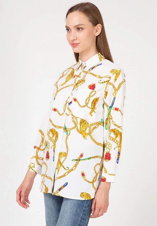 женская рубашка lilove, белая