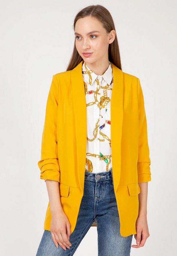 женский жакет lilove, желтый
