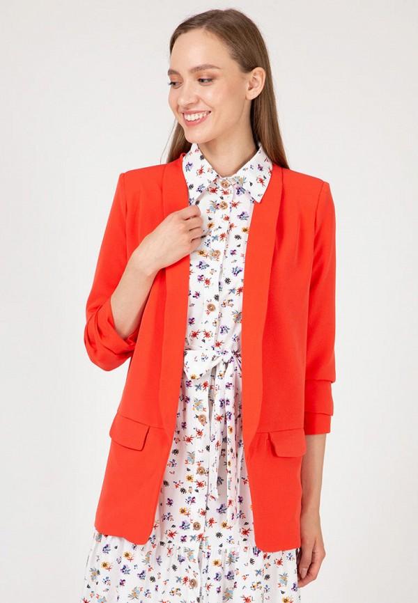 женский жакет lilove, оранжевый