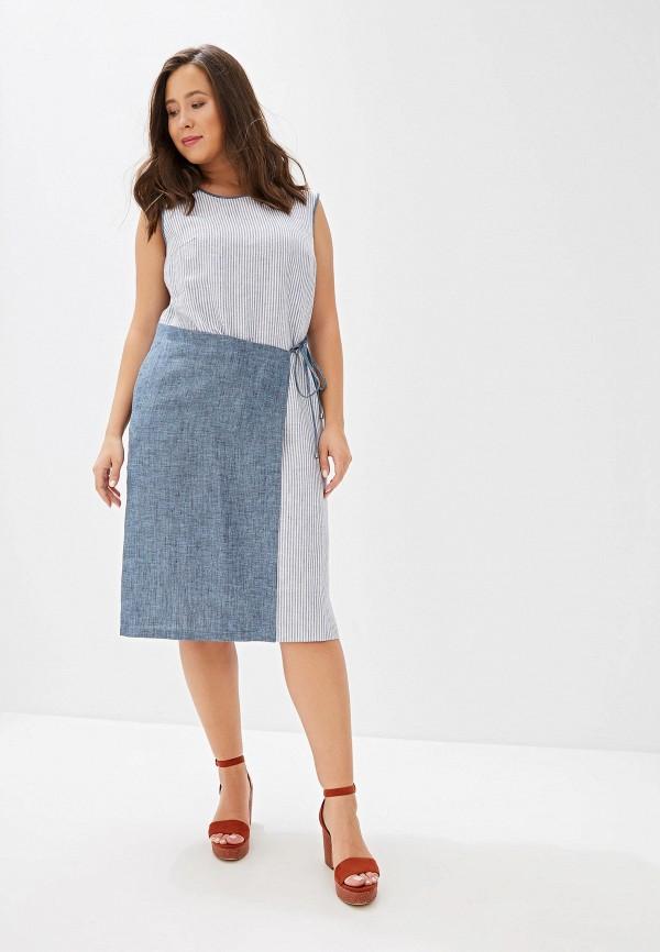 женское платье maria velada, голубое