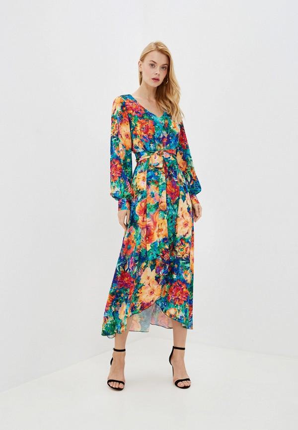 Фото - Женское платье Ligvianni разноцветного цвета
