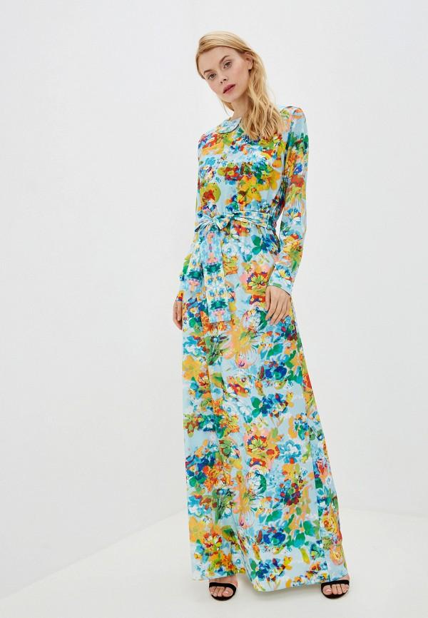 Фото - Женское платье Ligvianni бирюзового цвета