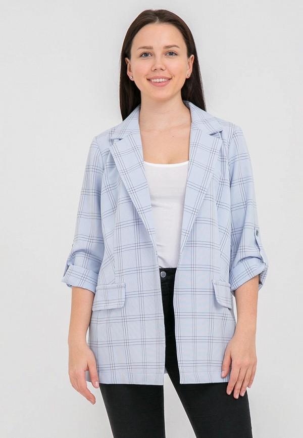 женский пиджак mankato, голубой