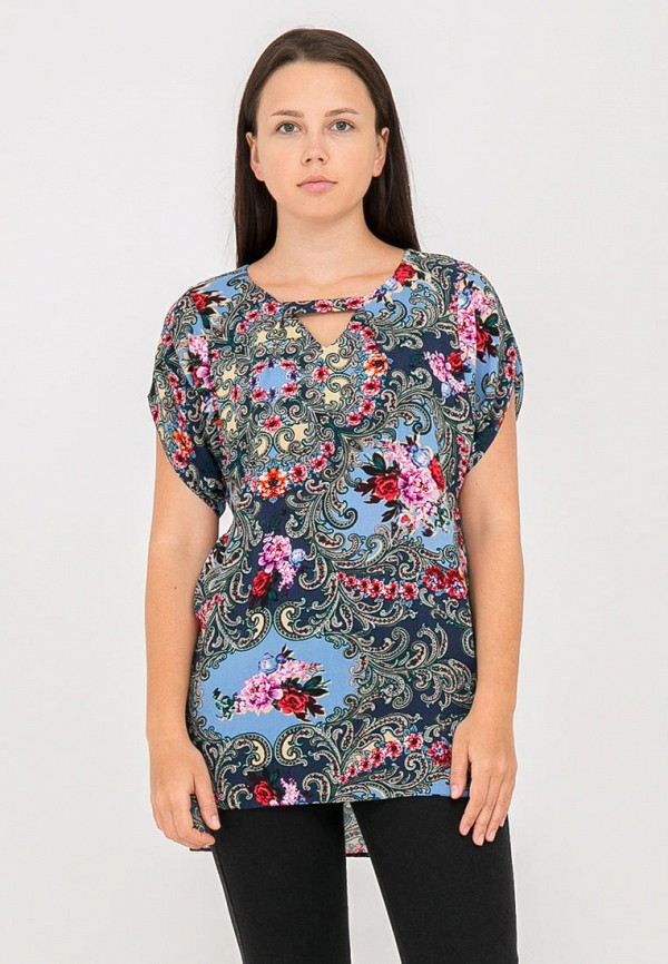 Фото - Женскую блузку Mankato разноцветного цвета