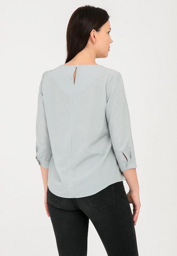 Фото 3 - Женскую блузку Mankato зеленого цвета