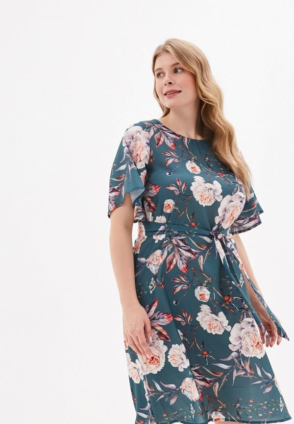 женское платье lika dress, зеленое