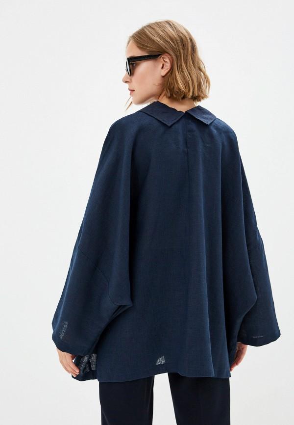 Фото 3 - Куртку Gabriela синего цвета