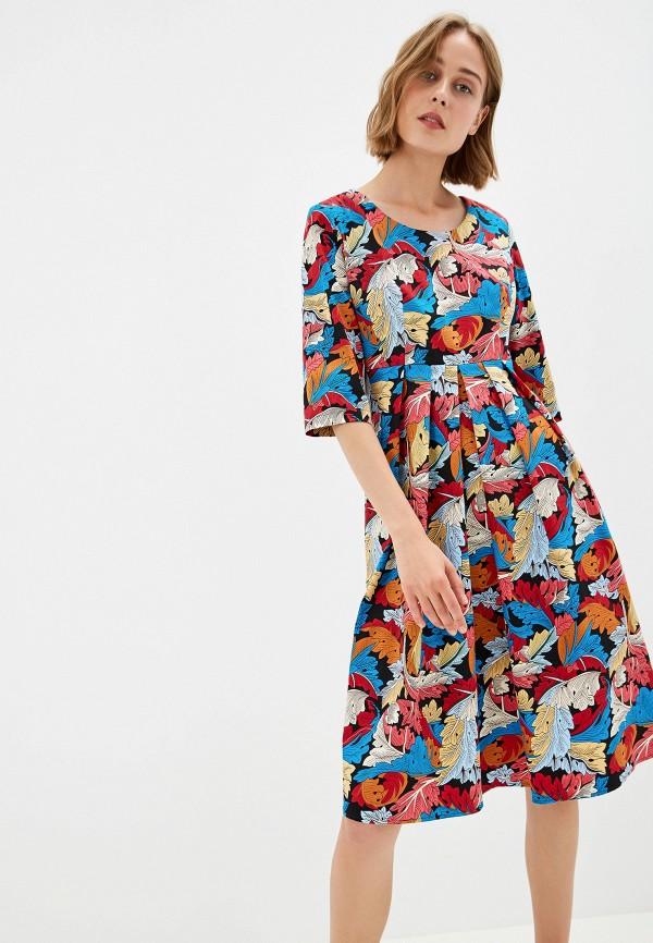 Фото - Женское платье Gabriela разноцветного цвета