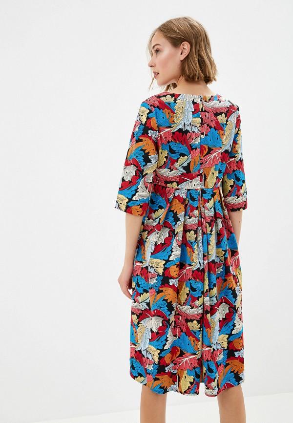 Фото 3 - Женское платье Gabriela разноцветного цвета