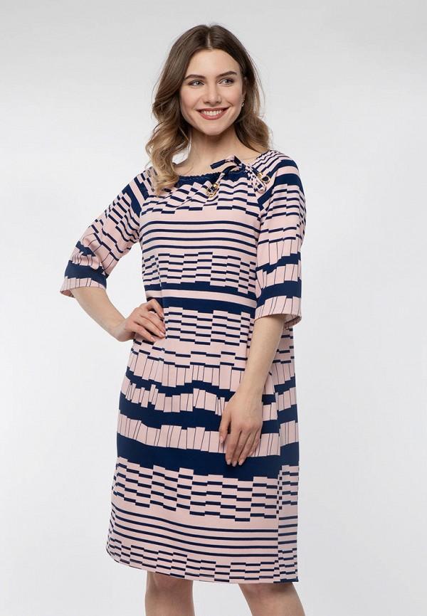 женское повседневные платье modniy oazis, розовое
