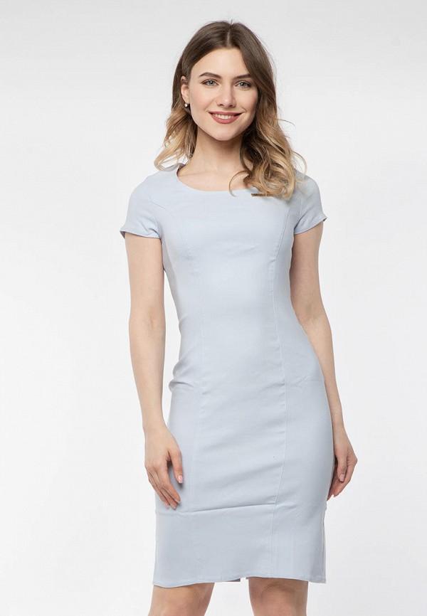 женское платье-футляр modniy oazis, голубое