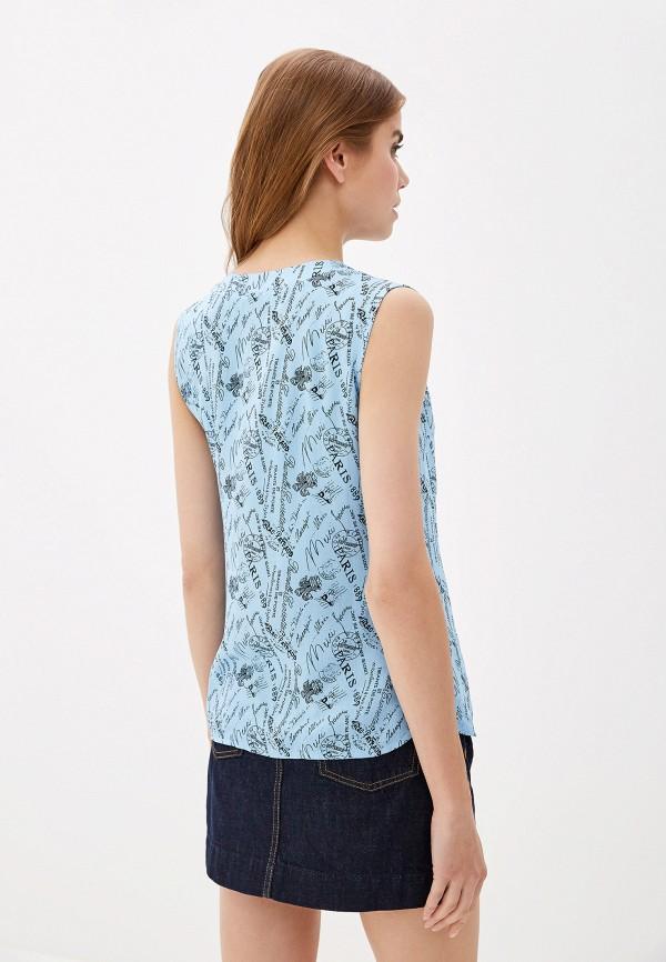 Фото 3 - Женскую блузку Elardis голубого цвета