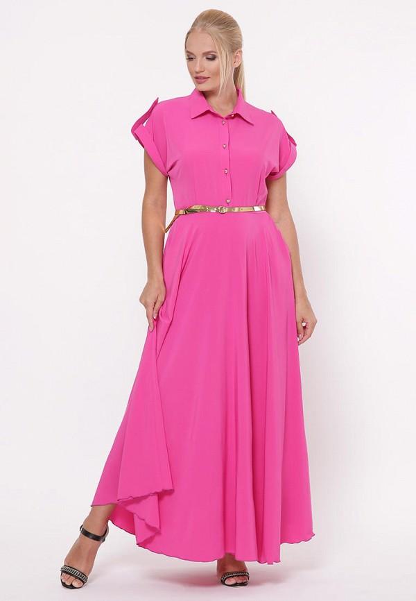 женское платье vlavi, розовое