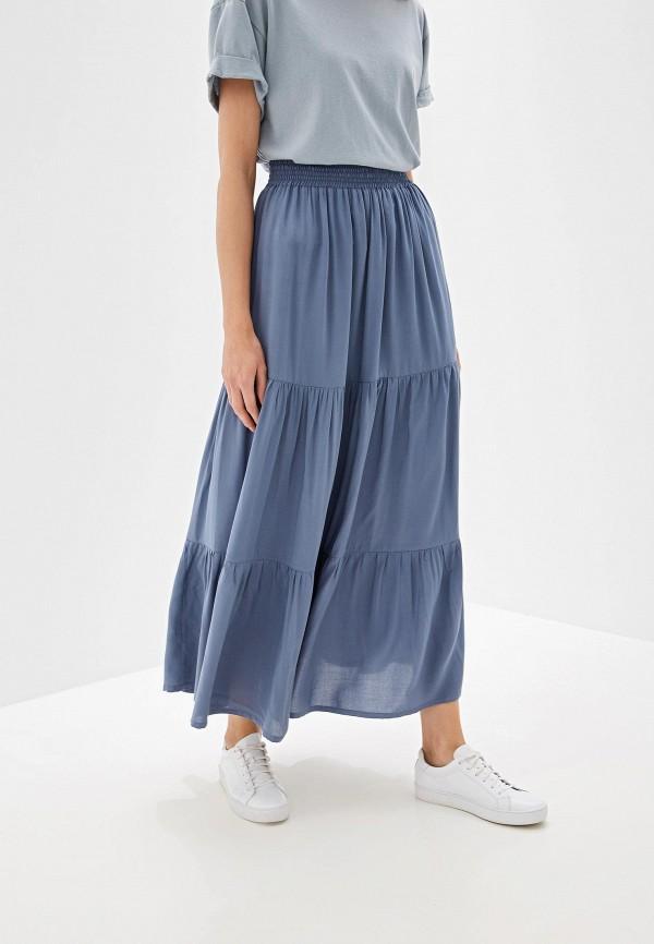 женская юбка alina assi, голубая