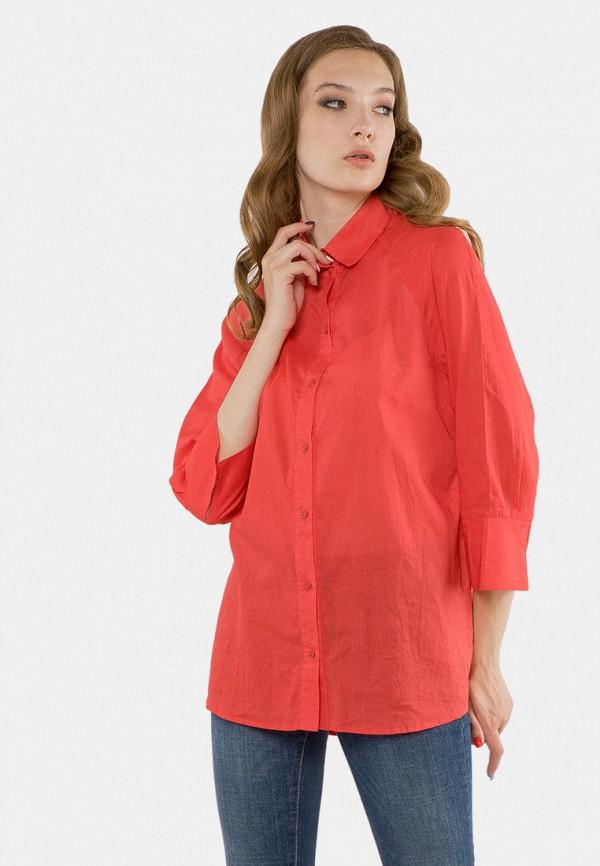 женская блузка mr520, красная