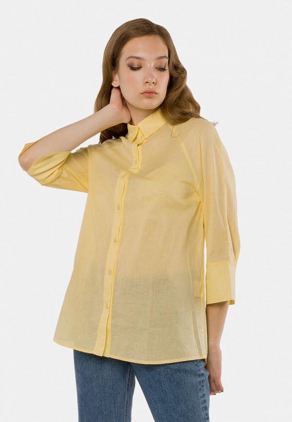женская блузка mr520, желтая