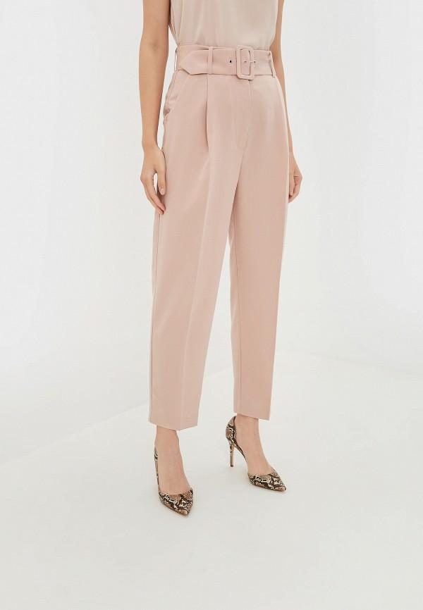 женские брюки incity, розовые