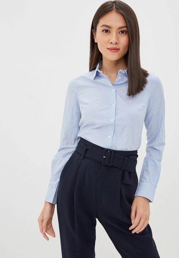 женская рубашка incity, голубая