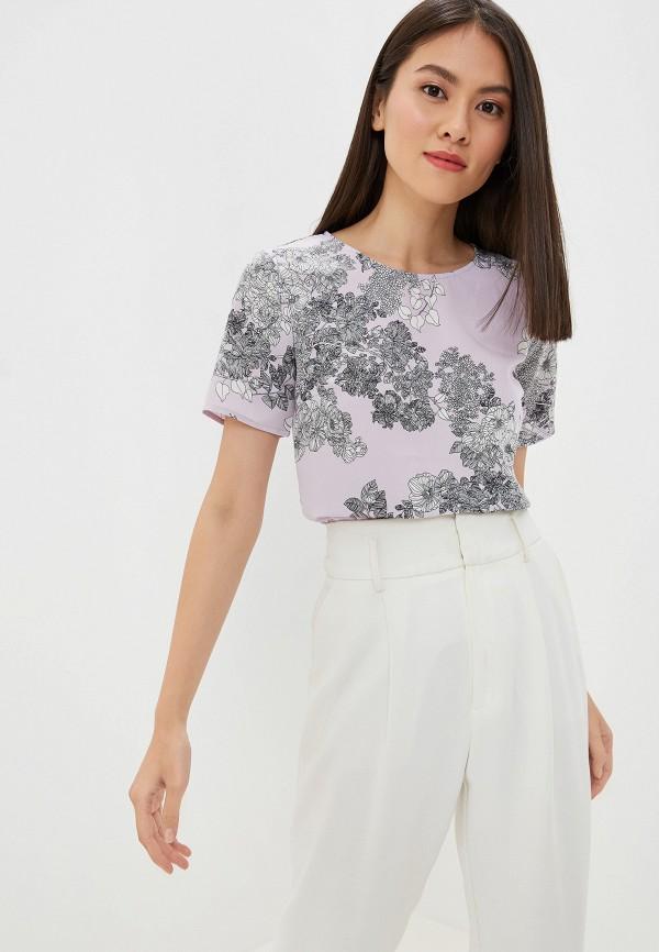 женская блузка incity, фиолетовая