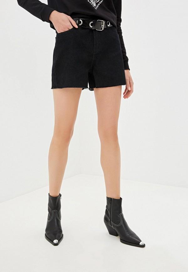 женские шорты incity, черные